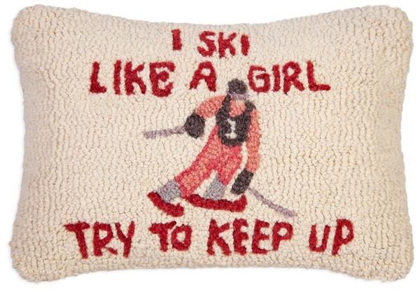Pillow- Ski Like A Girl