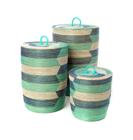 Blue Sahara Hamper Baskets