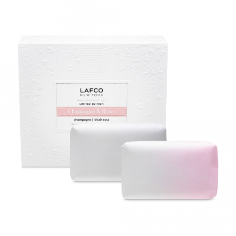 Lafco New York Lafco Champagne and Roses Soap Duo
