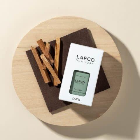 Lafco New York Pura Smart Diffuser Set-w/Chamomile Lavendar & Champagne scents