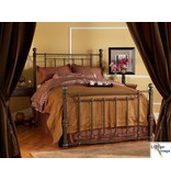 Wesley Allen Wesly Allen Hancock Metal Bed (Discontinued Style) Antique Verde King Headboard Only