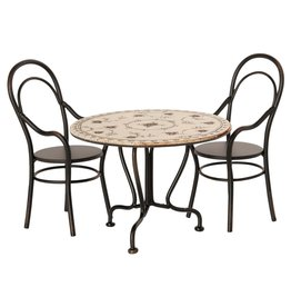 Maileg Maileg Dining Table set w/ 2 chairs