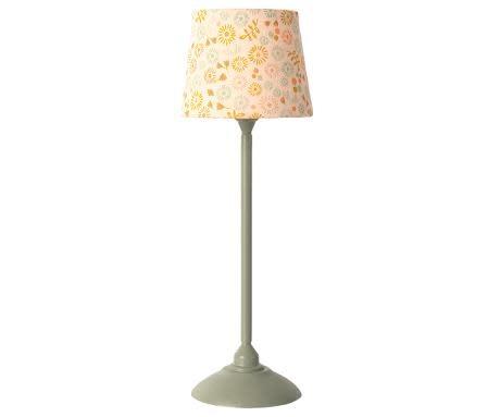 Maileg Maileg Miniature Floor Lamp-Mint