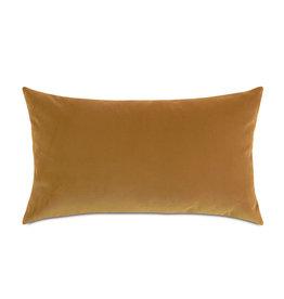 Uma Velvet Decorative Pillow-Gold