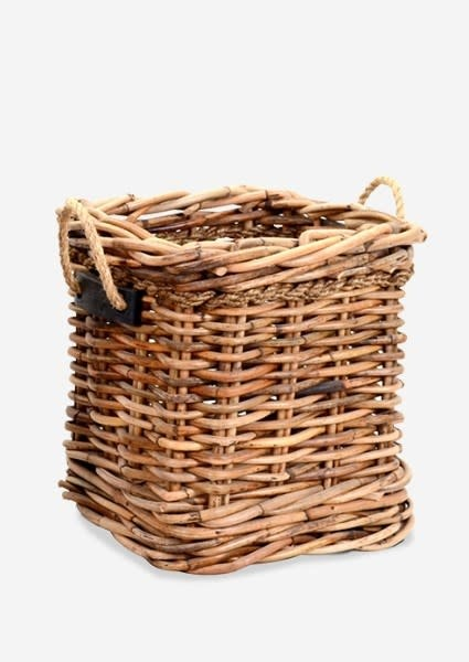 Leeton Square Basket-18x18x20