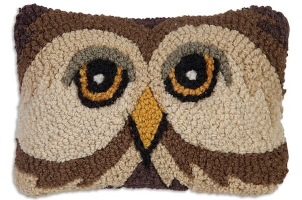 Small Wool Animal Pillow-Hooked