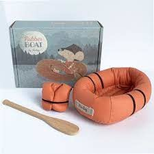 Maileg Rubber Boat-Mouse