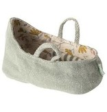 Maileg Carry Cot, My- Dusty Green