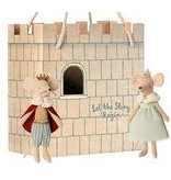 Maileg Gift Bag- Castle: Let the story begin-mint