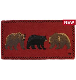 Mixed Bears Rug-2 x 4