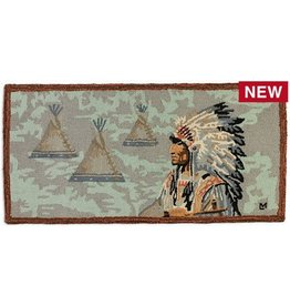 Indian Cheif Rug-2 x 4
