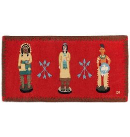 Cigar Store Indians Rug-2 x 4