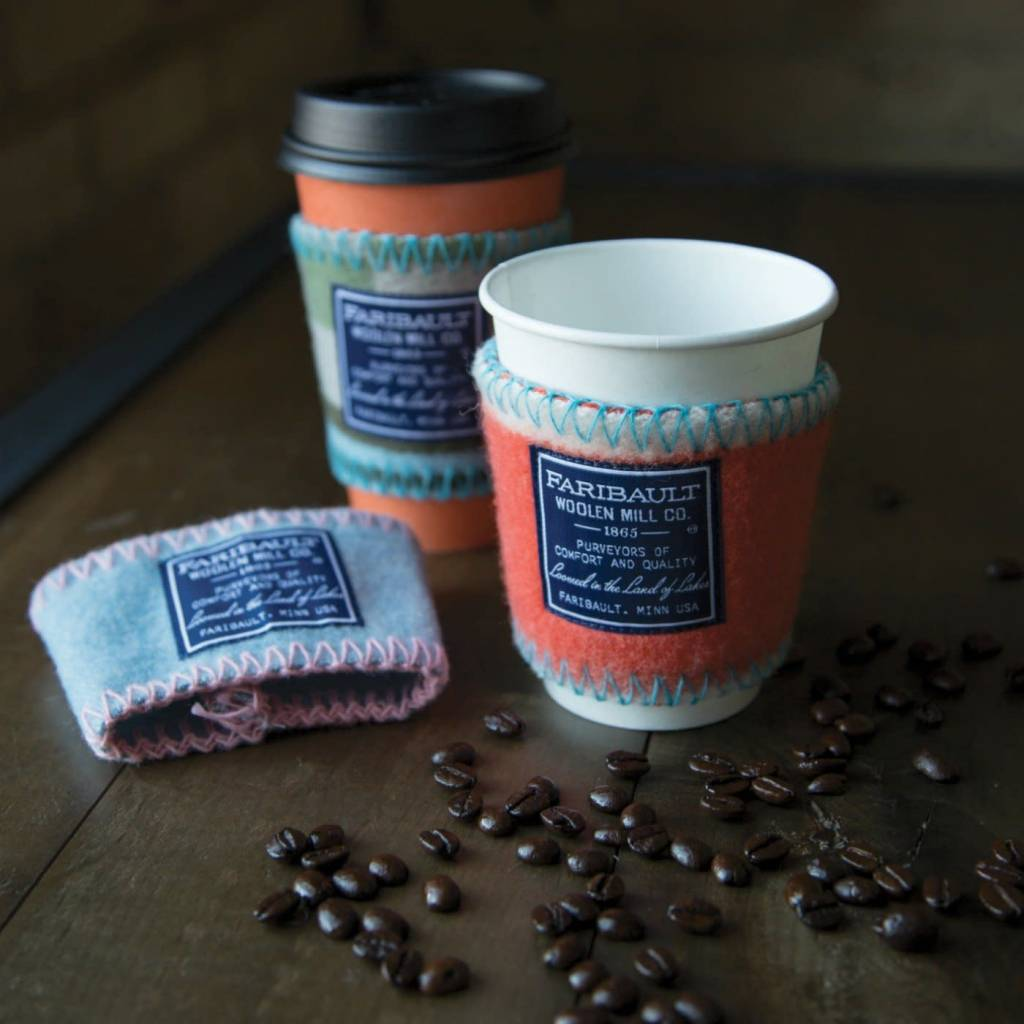 Faribault Woolen Mills Co  Coffee Cup Sleeve-Misc  Colors