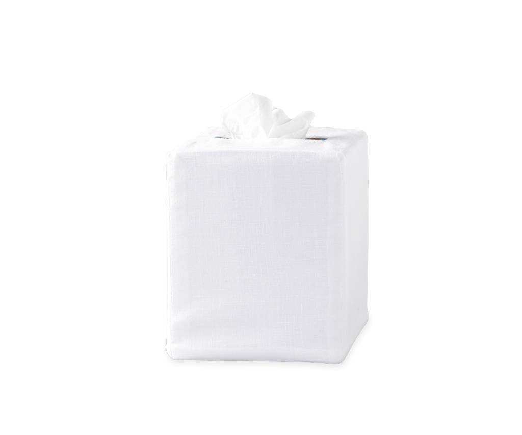 Matouk Plain Tissue Box Cover