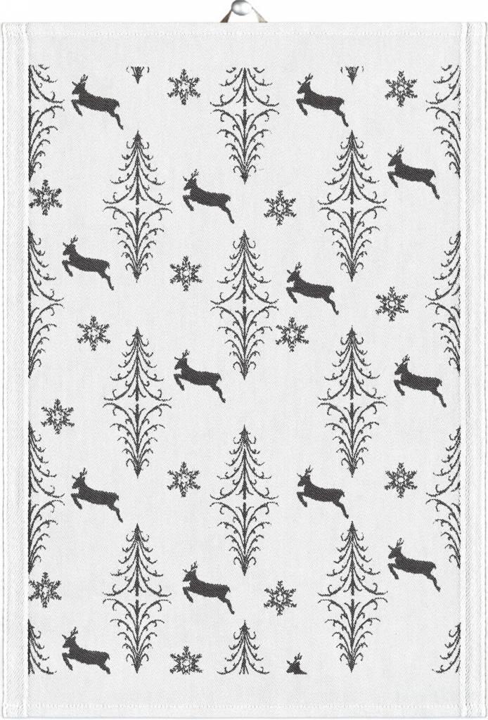 """Ekelund Guest Towel-running Deer/14 x 20"""""""