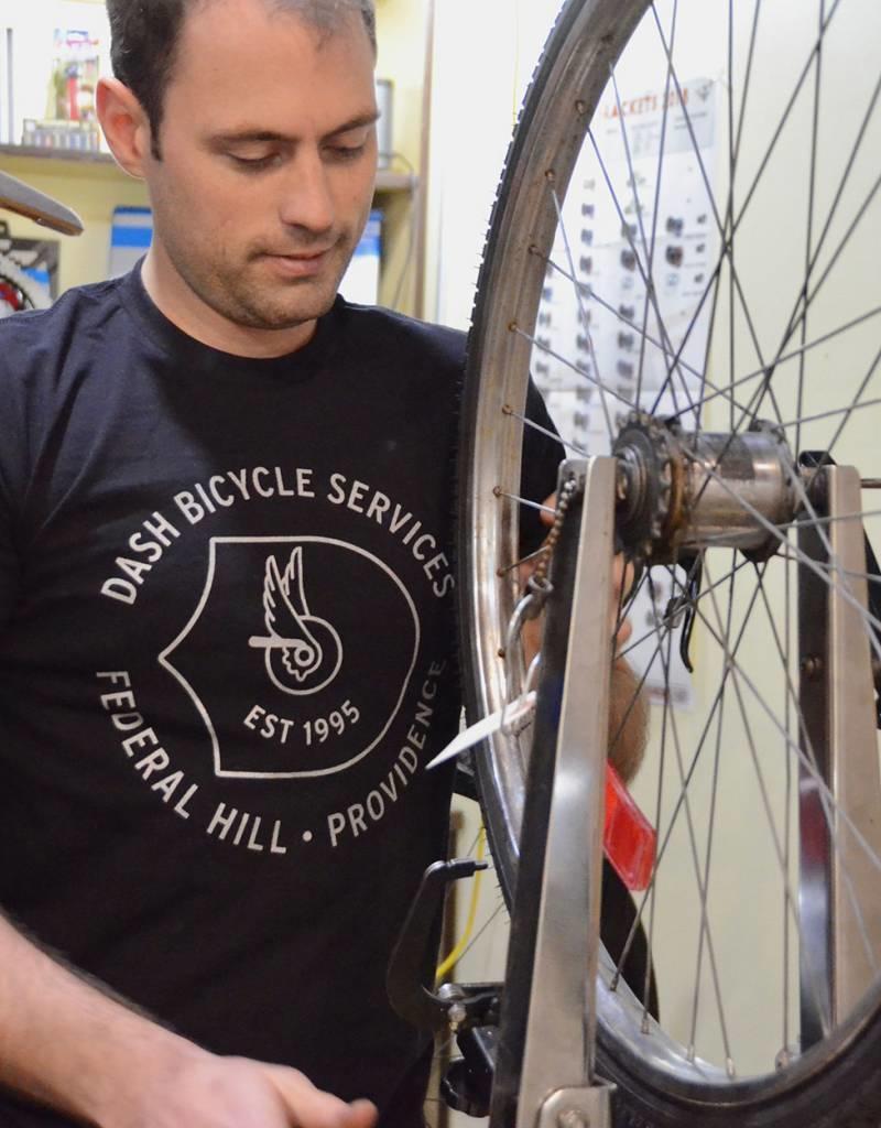 Dash Bicycle Dash Bicycle Services 1995 Tshirt