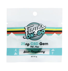 Floyd's of Leadville Floyd's CBD Gems: 25mg Blue Raspberry