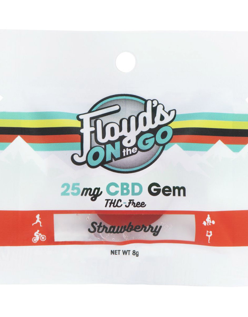 Floyd's of Leadville Floyd's of Leadville CBD Gems: 25mg Strawberry