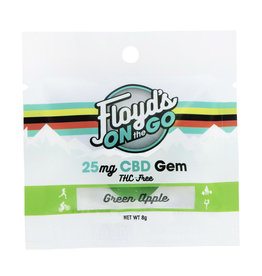 Floyd's of Leadville Floyd's CBD Gems: 25mg Green Apple