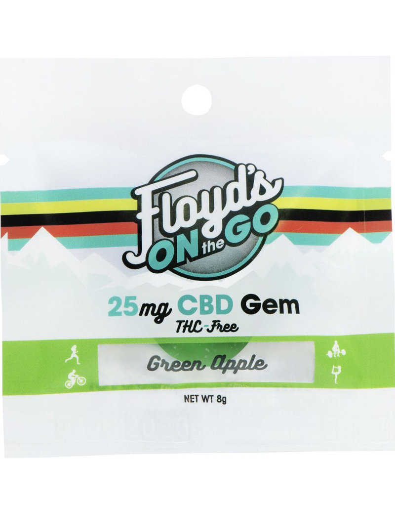 Floyd's of Leadville Floyd's of Leadville CBD Gems: 25mg Green Apple