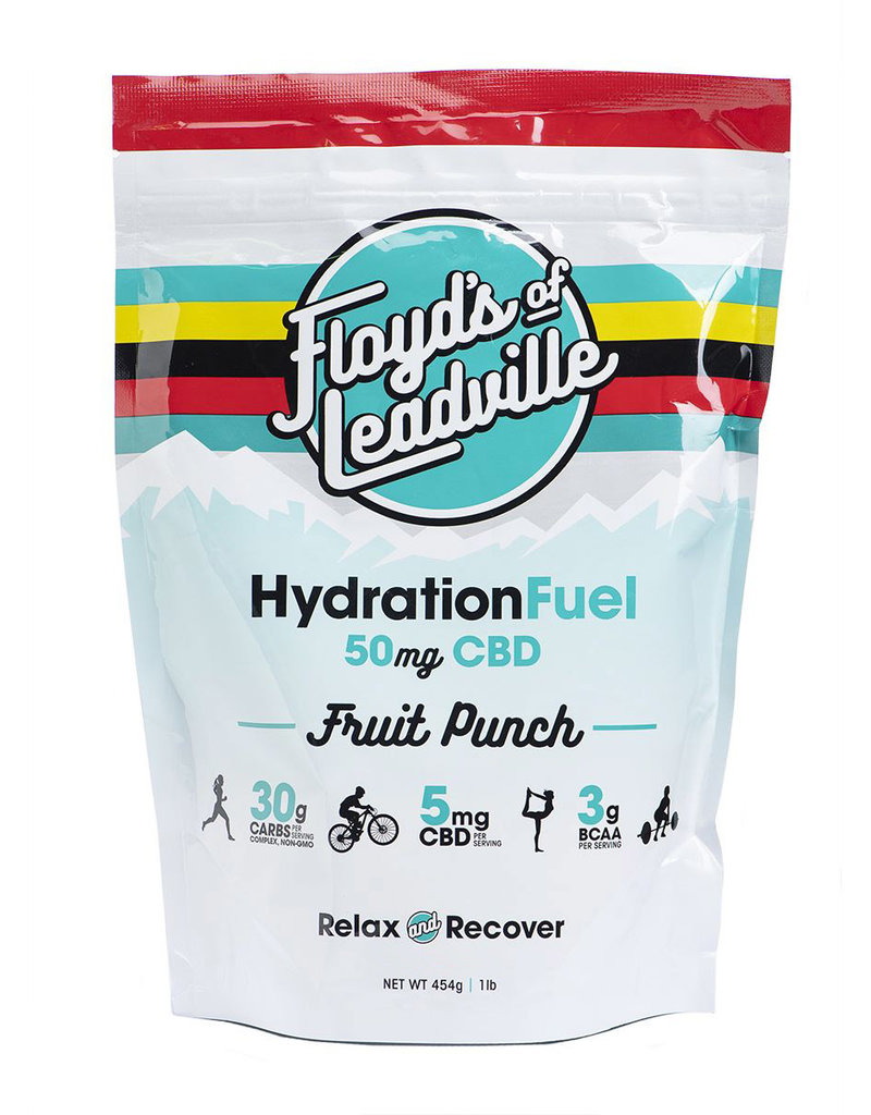 Floyd's of Leadville Floyd's of Leadville CBD Hydration Fuel Drink Mix: THC Free Isolate 50mg