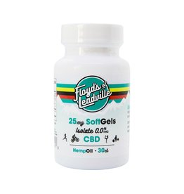Floyd's of Leadville Floyd's CBD Softgel: THC Free Isolate 25mg