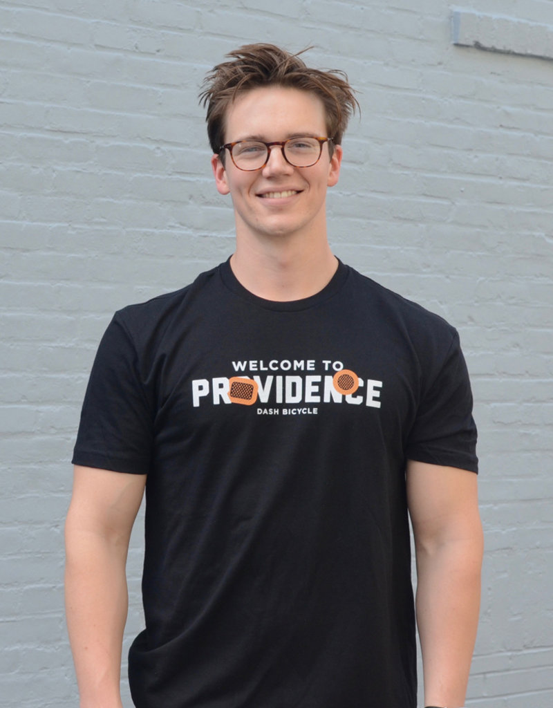 Dash Bicycle Welcome To Providence Tshirt