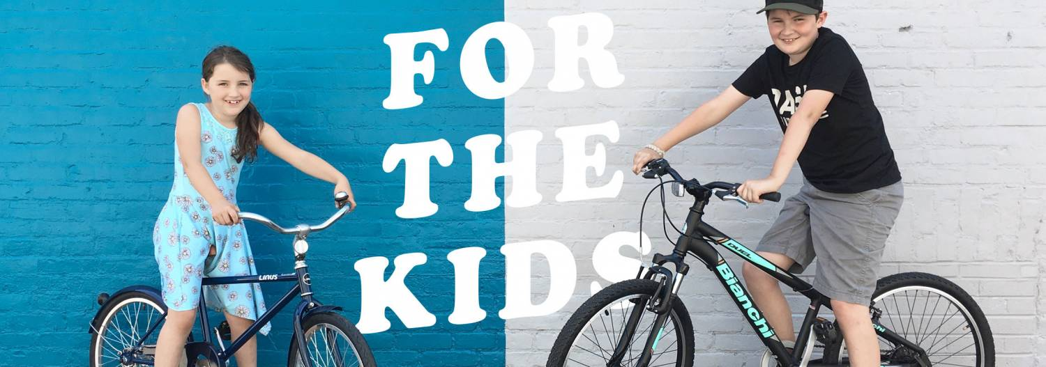 Bicycles for the Kids at Dash