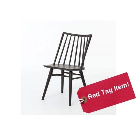 Lewis Oak Windsor Dining Chair in Black Oak