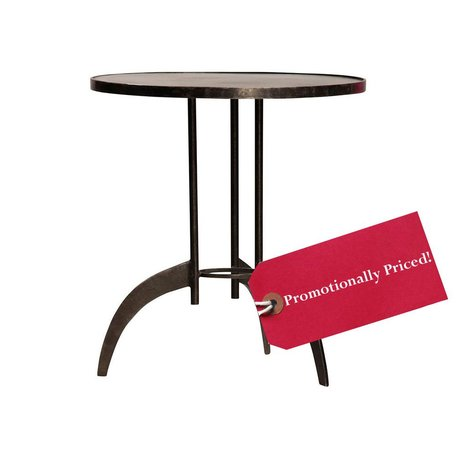 Heath Steel Sidetable