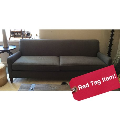 "Sloane 84"" Sofa in Ridley Charcoal by MGBW"