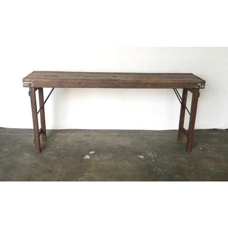 Vintage Wood Wedding Console