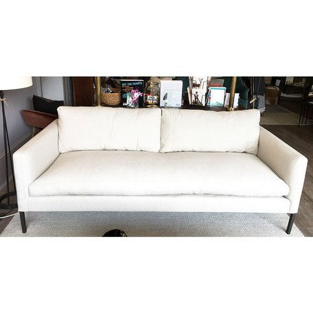 "Morgan 83"" Sofa #7099-03 in Basket Natural w/Haven Package by Lee Industries"