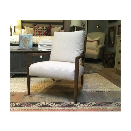 Montauk Chair Oak in Naoki Latte by Cisco Brothers