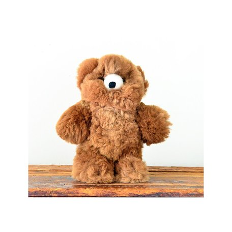 Alpaca Stuffed Brown Bear