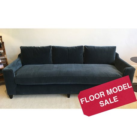 "Gunner 84"" Sofa in Cusco Indigo by Cisco Brothers *Floor Model Only*"
