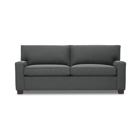 "Alex 79"" 2/2 Luxe Sleeper Sofa in Ridley Charcoal by MGBW"