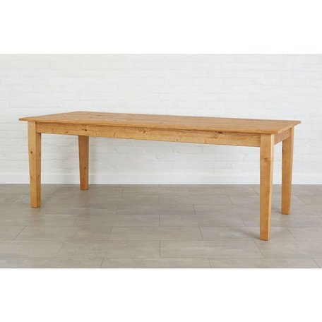 Provence Dining Table in Natural 72""