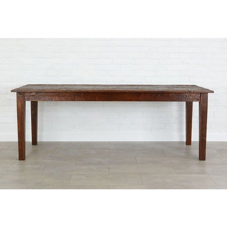 """Provence Dining Table in Saddle 84"""""""