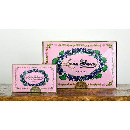 Louis Sherry 2pc Truffle Box in Orchid
