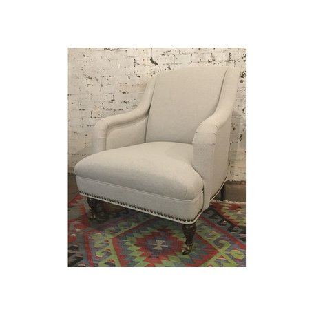 Odette Chair in Ridley Pewter by MGBW
