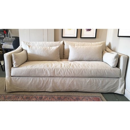"Rebecca 84"" Sofa in Naoki Latte by Cisco Brothers"