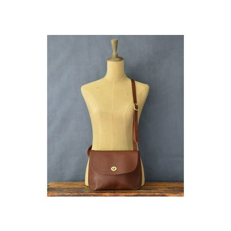 Handmade Leather Jenny Bag in Bubble Tan