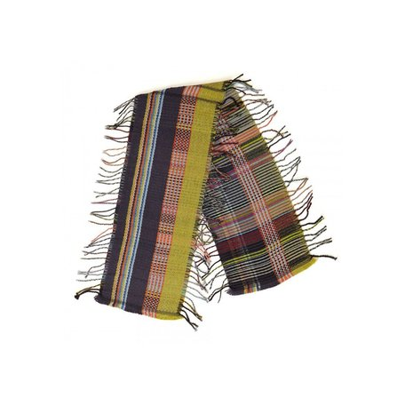Wallace#Sewell Cashmere and Wool Tippet Arcola in Yellow