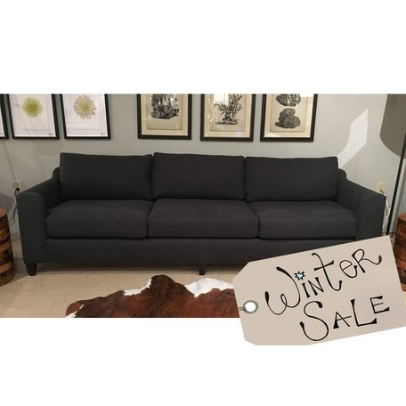 "Gunner 96"" Sofa in Blake Slate by Cisco Brothers *Floor Model Only"