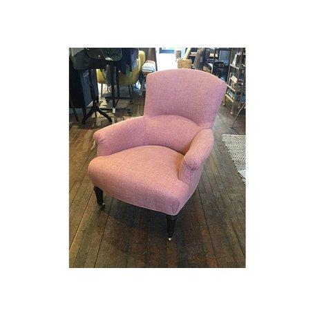 Miranda Chair in 1235-01 Crypton Pendleton Poppy by Lee Industries