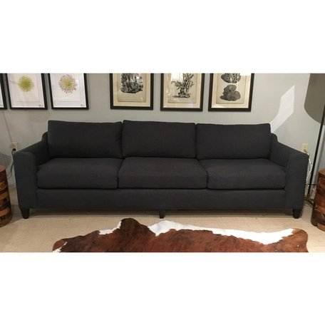 "Gunner 96"" Sofa in Blake Slate by Cisco Brothers"