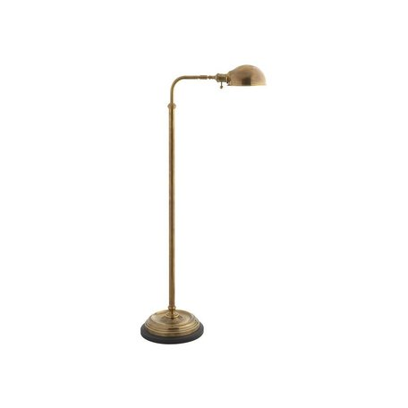 Apothecary Adjustable Floor Lamp in Antique Burnished Brass