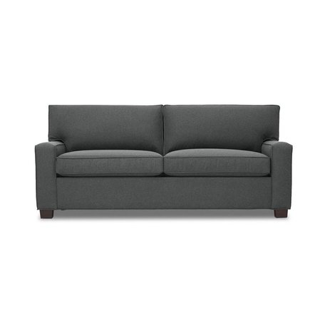 """Alex 79"""" 2/2 Luxe Sleeper Sofa in Ridley Charcoal by MGBW"""