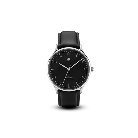 1969 Watch in Steel/Black, 39mm by About Vintage